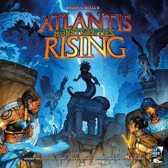 Atlantis Rising: Monstrosities Expansion (Kickstarter Pre-Order Special) Kickstarter Board Game Expansion Elf Creek Games KS000923B
