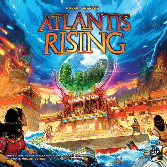 Atlantis Rising: Play Mat (Kickstarter Pre-Order Special) Kickstarter Board Game Accessory Elf Creek Games KS000923C