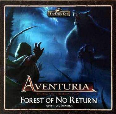 Aventuria Adventure Card Game Expansion: Forest of No Return Retail Board Game Expansion Ulisses Spiele 4260091156505 KS000672A