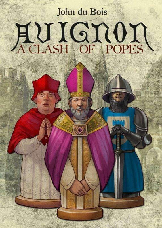 Avignon: A Clash of Popes (Kickstarter Special) Kickstarter Card Game Button Shy