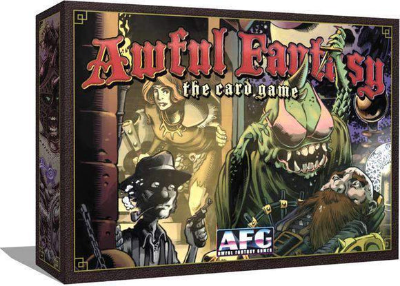 Awful Fantasy: The Card Game (Kickstarter Special) Kickstarter Card Game Awful Fantasy