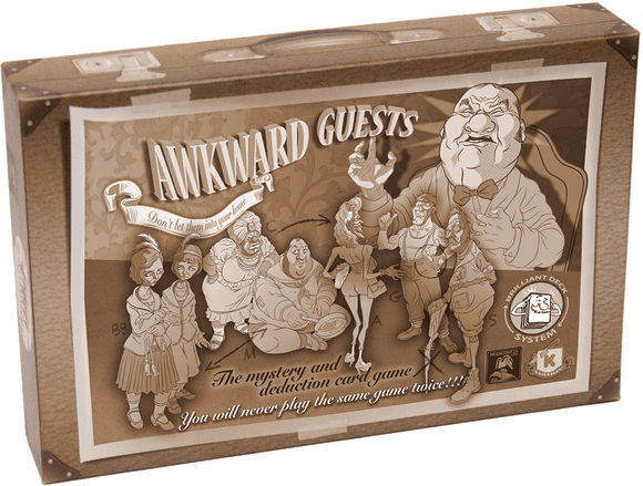 Awkward Guests: Who Murderd Mr. Walton Well Informed Investigator Pledge Bundle (Kickstarter Pre-Order Special) Kickstarter Board Game Megacorpin Games