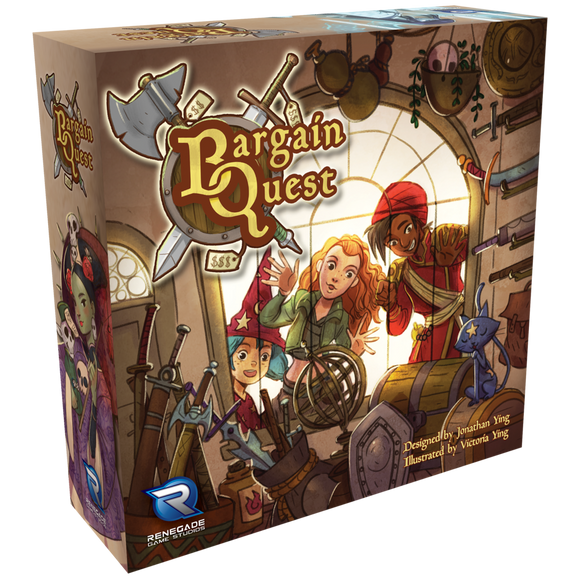 Bargain Quest: New Deluxe Pledge Bundle (Kickstarter Special) Kickstarter Board Game (Self-Published) KS000844A
