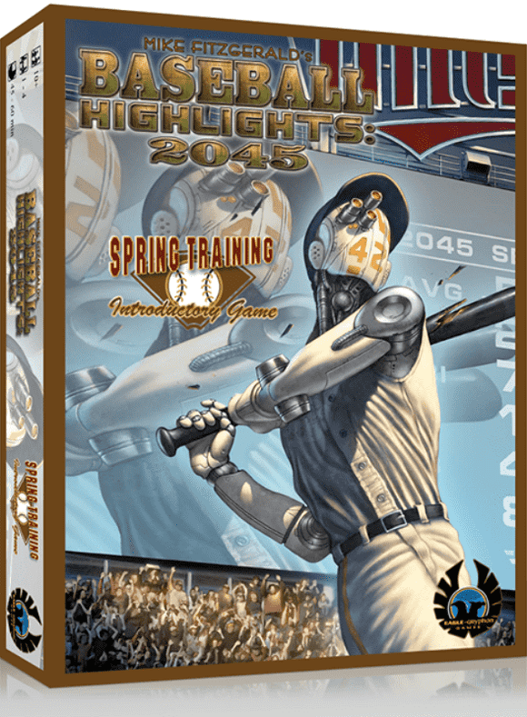 Baseball Highlights 2045: Free Agent Pledge (Kickstarter Special) Kickstarter Board Game Eagle Gryphon Games
