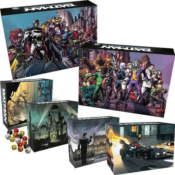 Batman: Gotham City Chronicles Bundle (Kickstarter Pre-Order Special) Kickstarter Board Game Monolith