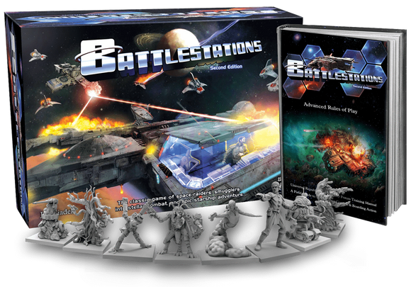 Battlestations: Second Edition (Kickstarter Special) Kickstarter Board Game Gorilla Games