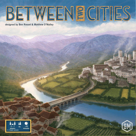 Between Two Cities: Core Game Retail Board Game Stonemaier Games KS001089A