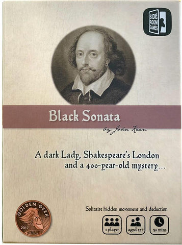 Black Sonata (Kickstarter Special) Kickstarter Board Game Side Room Games KS000924A