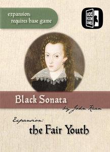 Black Sonata: The Fair Youth (Kickstarter Pre-Order Special) Kickstarter Board Game Expansion Side Room Games KS000924B