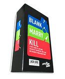 Blank Marry Kill Retail Card Game Skybound Games