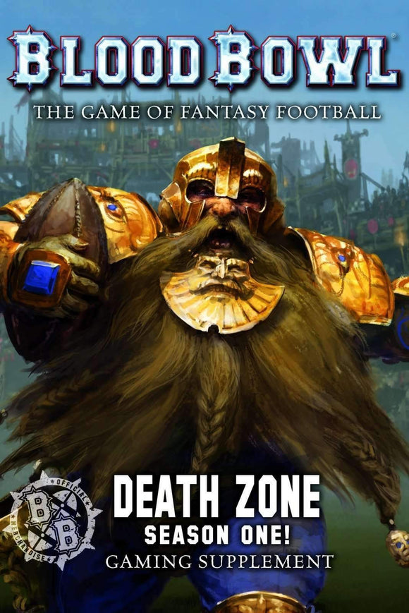 Blood Bowl: Death Zone Season One Retail Board Game Games Workshop Ltd 9781785818233 KS000807