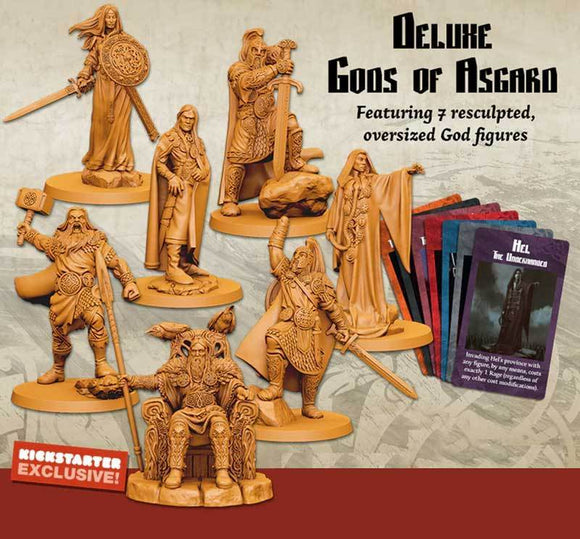 Blood Rage: Deluxe Gods of Asgard (Kickstarter Pre-Order Special) Kickstarter Board Game Accessory CMON Limited