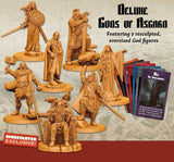 Blood Rage: Deluxe Gods of Asgard (Kickstarter Pre-Order Special) Kickstarter Board Game Accessory CMON Limited KS000324E