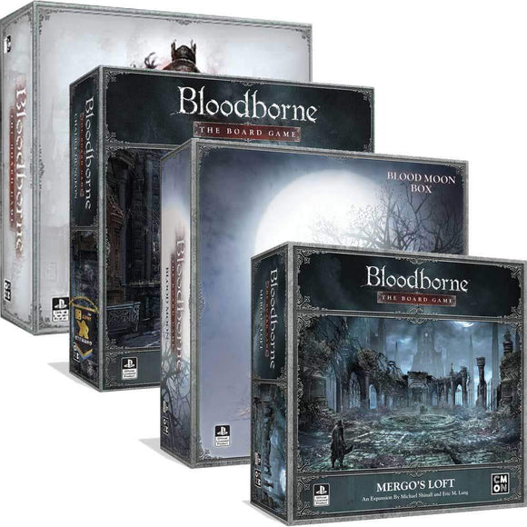 Bloodborne: Blood Moon Pledge Bundle (Kickstarter Pre-Order Special) Board Game Geek, Kickstarter Games, Games, Kickstarter Board Games, Board Games, CMON Limited, Bloodborne The Board Games, The Games Steward Kickstarter Edition Shop, Campaign Battle Card Driven, Cooperative Games CMON Limited