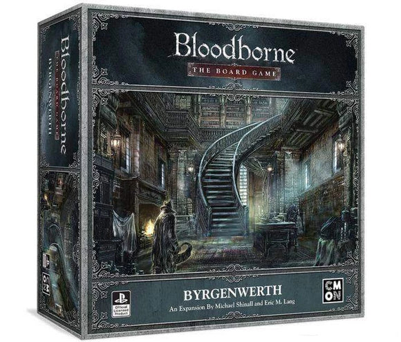 Bloodborne: Byrgenwerth Expansion (Kickstarter Pre-Order Special) Kickstarter Card Game Expansion CMON Limited KS000950G