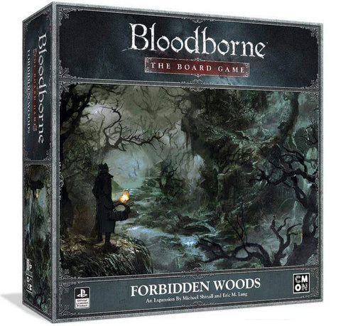 Bloodborne: Forbidden Woods Expansion (Kickstarter Pre-Order Special) Kickstarter Card Game Expansion CMON Limited KS000950C