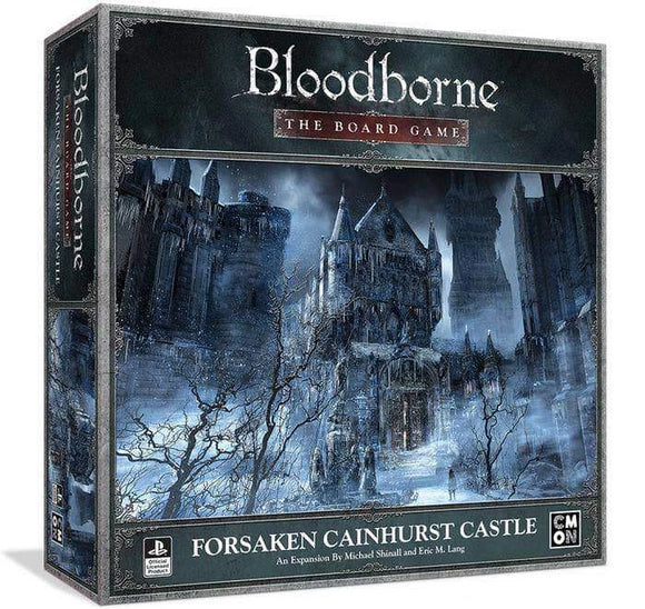 Bloodborne: Forsaken Cainhurst Castle Game Expansion (Kickstarter Pre-Order Special) Board Game Geek, Kickstarter Games, Games, Kickstarter Board Games, Board Games, Kickstarter Board Games Expansions, Board Games Expansions, CMON Limited, Bloodborne The Board Games – Forsaken Cainhurst Castle, The Games Steward Kickstarter Edition Shop CMON Limited