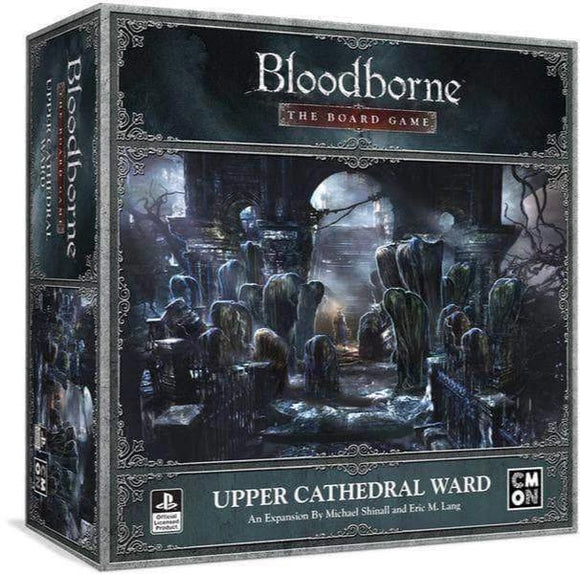 Bloodborne: Øvre Cathedral Ward Expansion (Kickksttarter Pre- Order Special) Kicktarter Card Game Expansion CMON Limited KS000950F