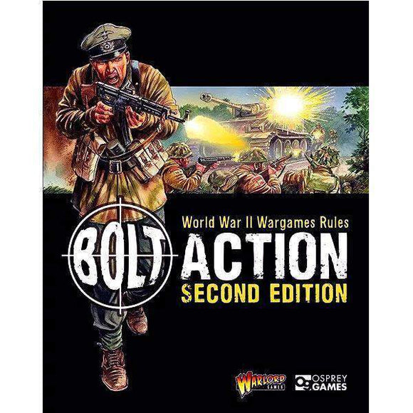 Bolt Action Second Edition (softcover) Retail Miniatures Game Osprey Publishing