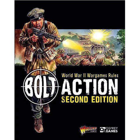 Bolt Action Second Edition (softcover) Retail Miniatures Game Osprey Publishing 9781472817808 KS000696
