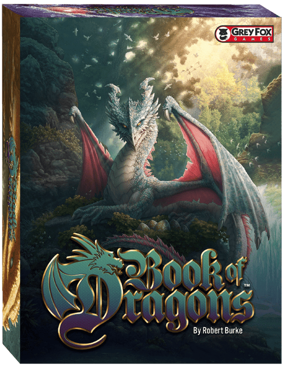 Book of Dragons Deluxe Edition Bundle (Kickstarter Special) Kickstarter Board Game Grey Fox Games