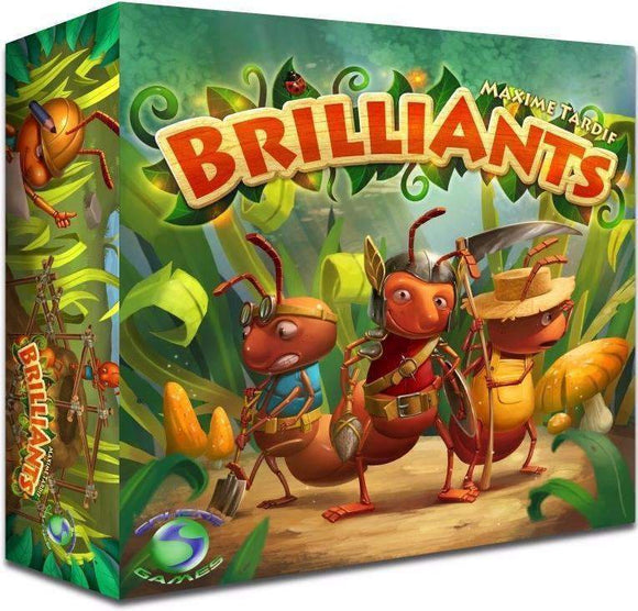 BrilliAnts (Kickstarter Special) Kickstarter Board Game Sphere Games