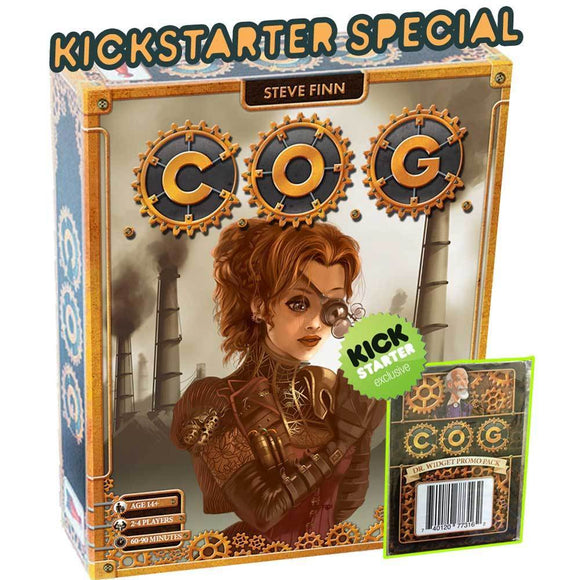 C.O.G. Plus Exclusive Dr. Widget Promo Pack (Kickstarter Special) Kickstarter Board Game Dr. Finn's Games 0740120773155 KS000667