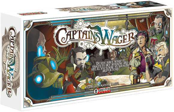 Captain's Wager Bundle Retail Board Game Grey Fox Games