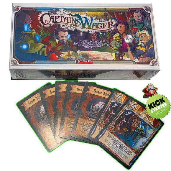 Captain's Wager First Mate Pledge (Kickstarter Special) Kickstarter Card Game Grey Fox Games