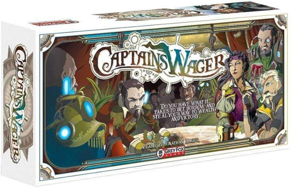 Captain's Wager (Kickstarter Special) Kickstarter Card Game Grey Fox Games