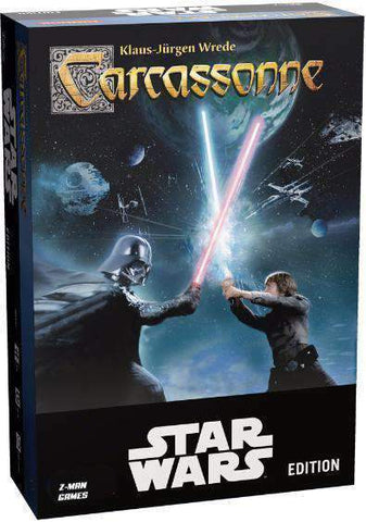 Carcassonne: Star Wars Retail Board Game Bard Centrum Gier KS000725