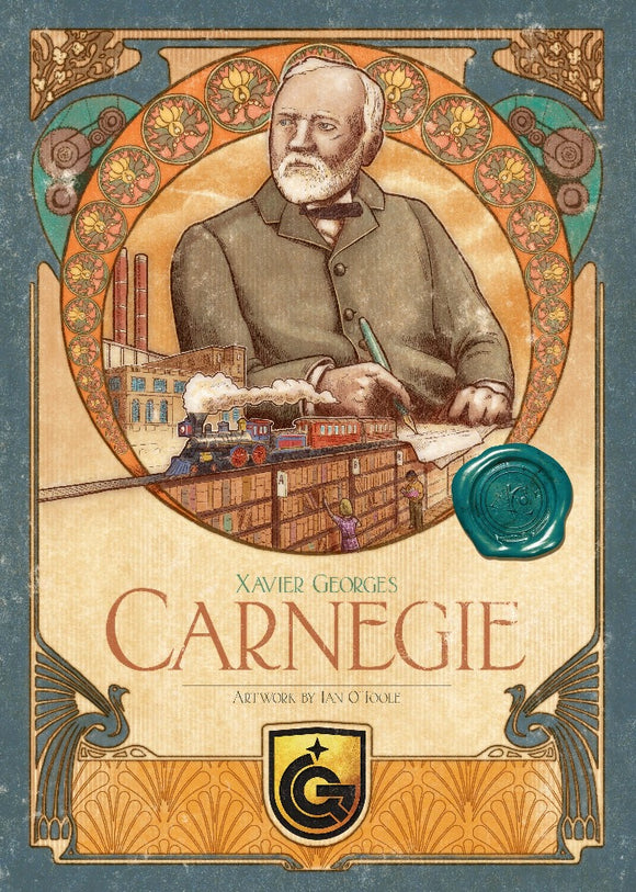 Carnegie Deluxe Collector's Edition (Kickstarter Pre-Order Special) Board Game Geek, Kickstarter Games, Games, Kickstarter Board Games, Board Games, Quined Games, Carnegie, Kickstarter Board Games, Action Retrieval, Area Movement Quined Games KS001066A