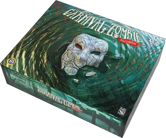 Carnival Zombie: Second Edition Deluxe Pledge Bundle (Kickstarter Pre-Order Special) Kickstarter Board Game Albe Pavo KS000964A