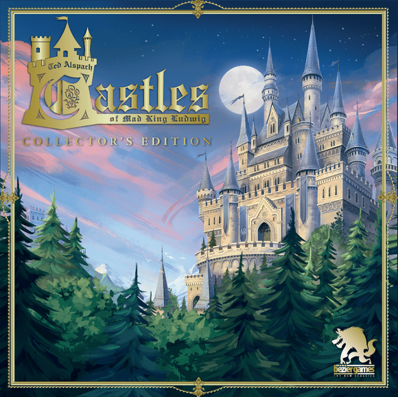 Castles of Mad King Ludwig: Collector's Edition Royal Light Bundle (Kickstarter Pre-Order Special) Kickstarter Board Game Bezier Games KS001067A