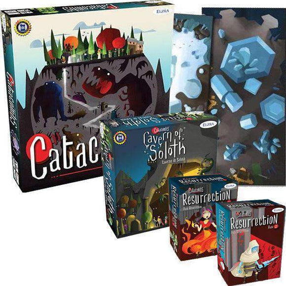 Catacombs Bundle (Kickstarter Special) Kickstarter Board Game Elzra Corp. 0628451192015 KS000061G
