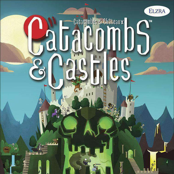 Catacombs & Castles: Huntress Pledge (Kickstarter Special) Kickstarter Board Game Elzra Corp.