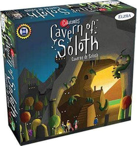 Catacombs: Cavern of Soloth Expansion Ding & Dent Retail Board Game Expansion Elzra Corp. 628451192022 KS000061I