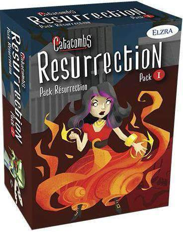Catacombs: Resurrection Pack 1 Expansion (Kickstarter Special) Elzra Corp. Board Game Geek, Kickstarter Games, Games, Kickstarter Board Games, Board Games, Kickstarter Board Games Expansions, Board Games Expansions, Elzra Corp, Schwerkraft Verlag, Catacombs Castles