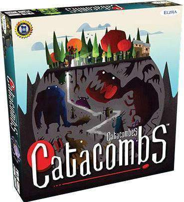Catacombs Retail Board Game Elzra Corp. 0628451192015 KS000061E