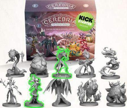 Cerebria Origin Box Pledge Level (Kickstarter Special) Kickstarter Board Game Mindclash Games KS000715