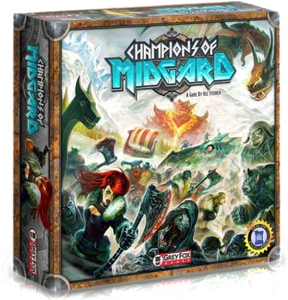 Champions of Midgard: The Core Game Ding & Dent (Retail Edition) Retail Board Game Grey Fox Games 616909967360 KS000650V
