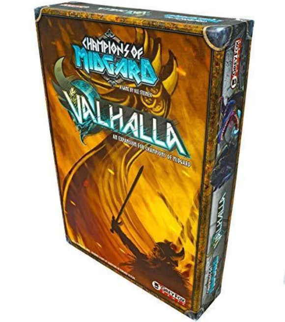 Champions of Midgard: Valhalla Expansion (Retail Edition) Retail Board Game Expansion Grey Fox Games 0616909967452 KS000650R