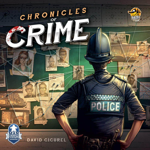 Chronicles of Crime: Core Game Retail Board Game Lucky Duck Games KS000736D