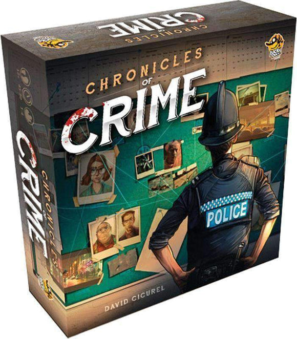 Chronicles of Crime: Ultimate Set (Kickstarter Pre-Order Special) Kickstarter Board Game Lucky Duck Games