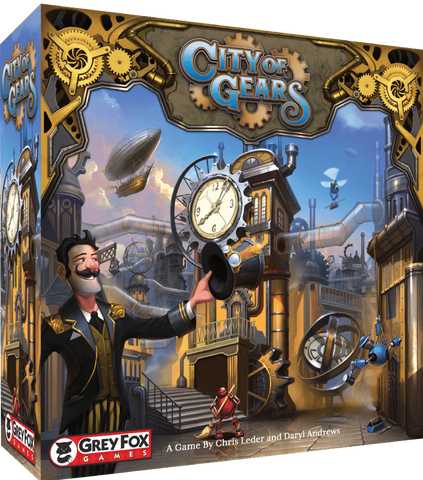 City of Gears: Retail Edition Retail Board Game Grey Fox Games KS000751C