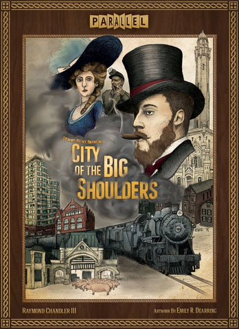 City of the Big Shoulders: Investor Pledge Bundle (Kickstarter Special) Kickstarter Board Game Parallel Games KS000906A