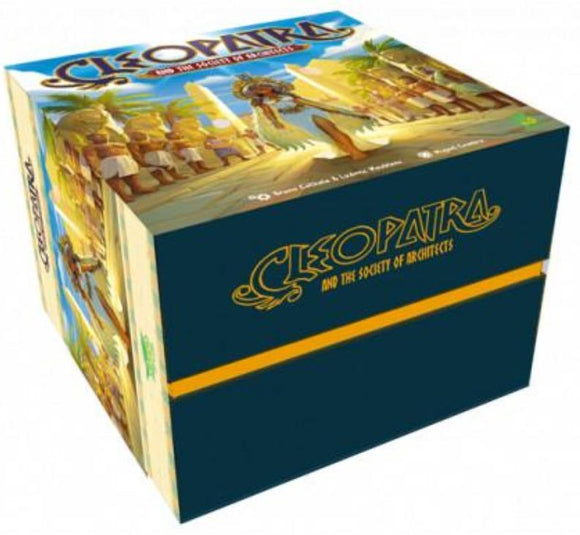 Cleopatra and the Society of Architects: Deluxe Edition Premium Plus Pledge Bundle (Kickstarter Pre-Order Special) Board Game Mojito Studios KS001012A