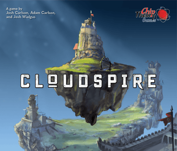 Cloudspire: Faction Spire Miniatures Pre-Order Board Game Geek, Games, Board Games, Chip Theory Games, Cloudspire, Kickstarter Board Games, Action Queue, Cooperative Games, Dice Rolling, Hexagon Grid Chip Theory Games KS000862D
