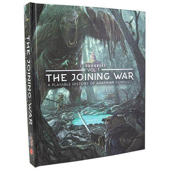 Cloudspire Vol 1: The Joining War - Hardcover Lore & Scenario Book Pre-Order Board Game Geek, Games, Board Games, Kickstarter Board Games Expansions, Board Games Expansions, Chip Theory Games, Unknown, Cloudspire The Joining War Lore and Art Book, Kickstarter Board Games, Action Queue Chip Theory Games KS000862B