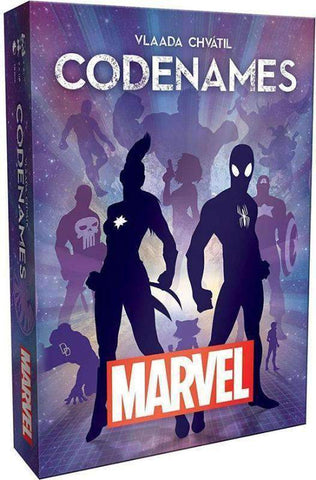 Codenames: Marvel Retail Board Game Czech Games Edition USAopoly 0700304049179 KS000791